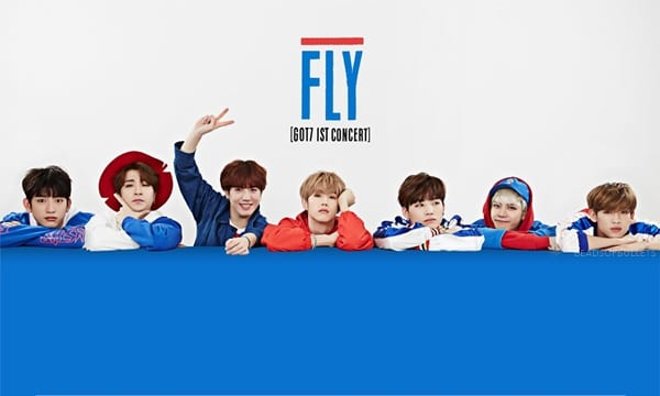 Got7 1st concert in seoul fly official concert merchandise the seoul