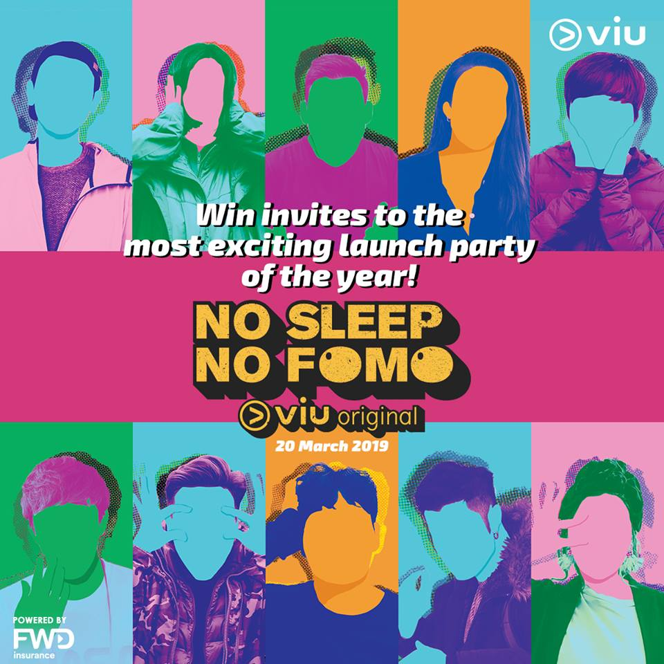 UPCOMING EVENT] VIU No Sleep No FOMO Launch Party in