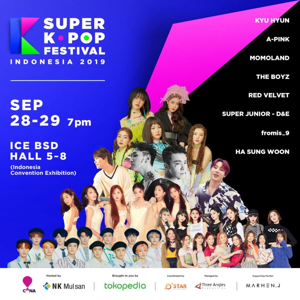 UPCOMING EVENT] Super K-Pop Festival 2019 in Indonesia – The